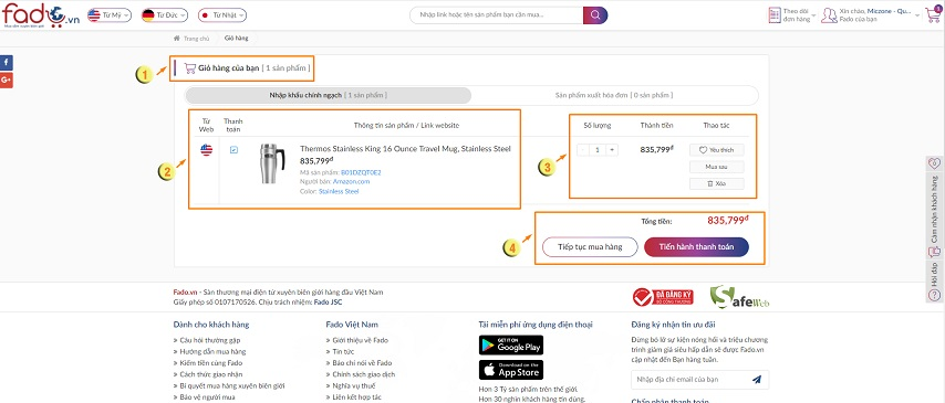 Mã giảm giá Fado-Coupon Fado mới nhất cập nhật hàng ngày 3